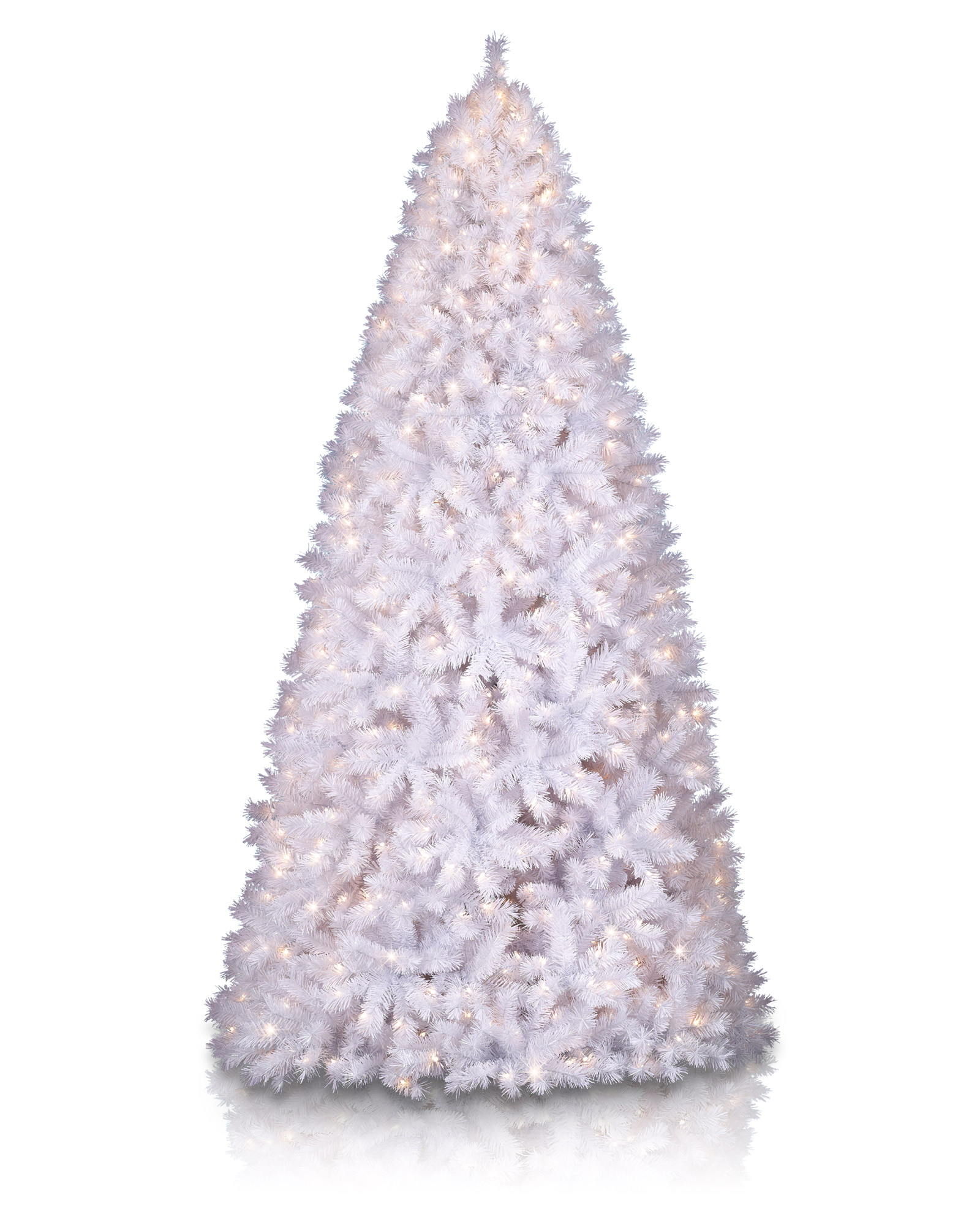 Tree market shimmering white christmas tree artificial christmas tree